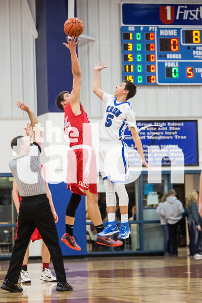 Eagles vs Krum (1-23-15)