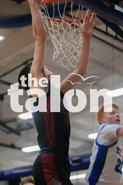 The Argyle Eagles defeat the Krum Bobcats at Krum high school on February 7, 2020. (Katie Ray   The Talon News)