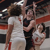 The Argyle Eagles take on and defeat the Springtown Porcupines at Springtown High School on January 12, 2020. (Katie Ray | The Talon News)