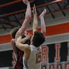 The Eagles defeat the Springtown Porcupines at Springtown high school on January 17, 2020. (Katie Ray | The Talon News)