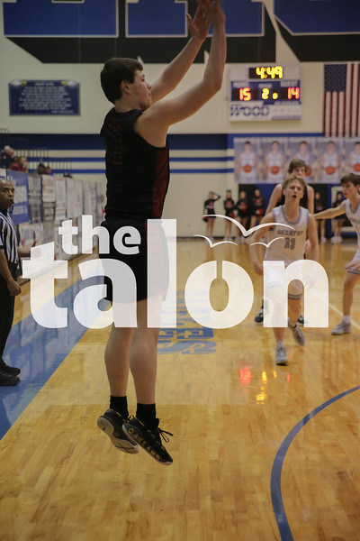 The Argyle Eagles defeat the Decatur Eagles at Decatur High School on January 24, 2020. (Grace Fife | The Talon News)
