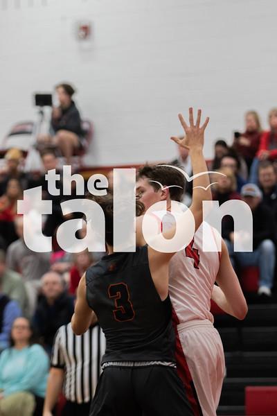The Argyle Eagles defeat the Springtown porcupines at Argyle high school on February 4, 2020. (Katie Ray | The Talon News)
