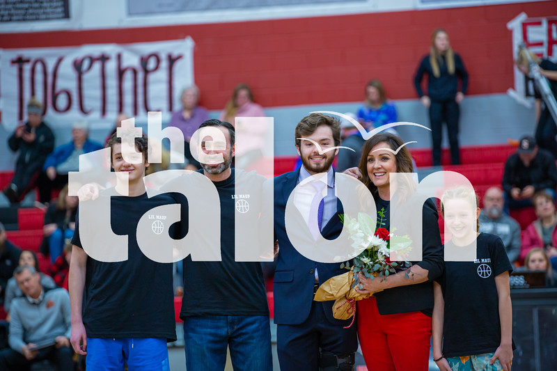 The Eagles defeat Springtown at Argyle High School on 02-05-20 . (Alex Daggett | The Talon news)