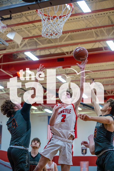 The Eagles defeat Springtown at Argyle High School on 02-05-20 . (Alex Daggett | The Talon news)
