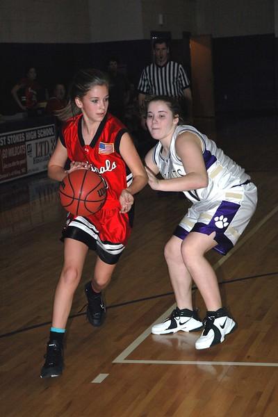 East Surry vs West Stokes, girls & boys, jv & varsity, 12/12/06