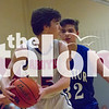 Freshmen Boys Basketball takes on the Decatur Eagles on Jan. 31, 2017. (Campbell Wilmot/The Talon News)