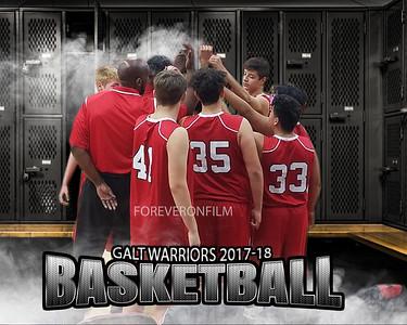 Galt High Freshman Basketball 2017-18
