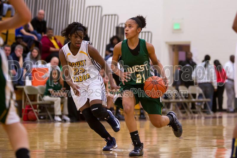 Mt Tabor Spartans vs W Forsyth Titans Women's Varsity Basketball<br /> Mary Garber Tournament Consolation Game<br /> Saturday, December 22, 2012 at Atkins High School<br /> Winston-Salem, North Carolina<br /> (file 183147_BV0H1288_1D4)