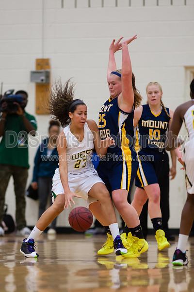 Mt Tabor Spartans vs West Forsyth Titans Women's Varsity Basketball
