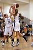 FCDS Furies vs Reagan Raiders Women's Varsity Basketball<br /> Mary Garber Classic Basketball Tournament<br /> Saturday, December 18, 2010 at Adkins High School<br /> Winston-Salem, North Carolina<br /> (file 120520_803Q8609_1D3)