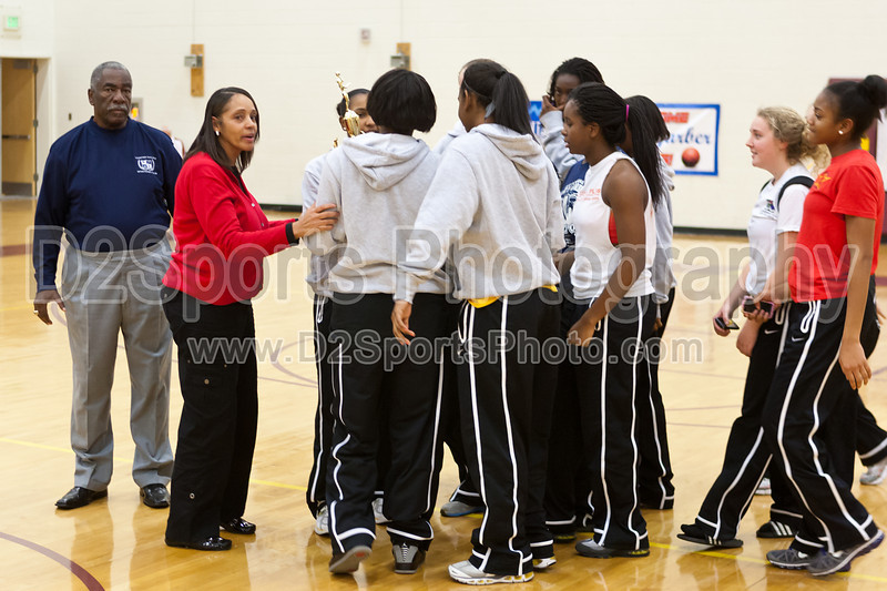 Awards Ceremony<br /> Mary Garber Classic Basketball Tournament<br /> Thursday, December 22, 2011 at Atkins High School<br /> Winston-Salem, North Carolina<br /> (file 220255_803Q9243_1D3)