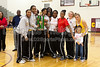 Awards Ceremony<br /> Mary Garber Classic Basketball Tournament<br /> Thursday, December 22, 2011 at Atkins High School<br /> Winston-Salem, North Carolina<br /> (file 220306_803Q9250_1D3)