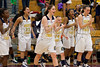 Mary Garber Classic Basketball Tournament Awards<br /> Championship Trophies<br /> Wednesday, December 22, 2010 at Adkins High School<br /> Winston-Salem, North Carolina<br /> (file 204740_QE6Q1356_1D2N)