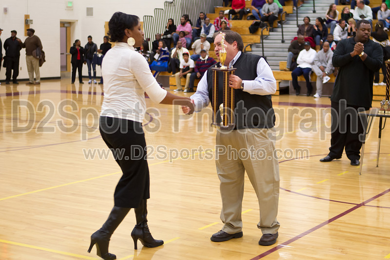 Mary Garber Classic Basketball Tournament Awards<br /> 4th Place Trophy<br /> Wednesday, December 22, 2010 at Adkins High School<br /> Winston-Salem, North Carolina<br /> (file 204642_BV0H9389_1D4)