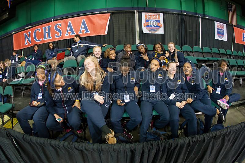 West Forsyth Titans vs Myers Park Mustangs Women's Varsity Basketball