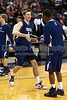 Mt Tabor Spartans vs FCDS Furies Men's Varsity Basketball<br /> Frank Spencer Holiday Classic Semifinals<br /> Tuesday, December 28, 2010 at Lawrence Joel Veterans Memorial Coliseum<br /> Winston-Salem, North Carolina<br /> (file 193133_QE6Q1540_1D2N)