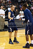 Mt Tabor Spartans vs FCDS Furies Men's Varsity Basketball<br /> Frank Spencer Holiday Classic Semifinals<br /> Tuesday, December 28, 2010 at Lawrence Joel Veterans Memorial Coliseum<br /> Winston-Salem, North Carolina<br /> (file 193127_QE6Q1535_1D2N)