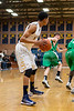 Mt Tabor Spartans vs Myers Park Mustangs Men's Varsity Basketball<br /> 1st Round 4A State Playoffs<br /> Monday, February 25, 2013 at Mt Tabor High School<br /> Winston-Salem, North Carolina<br /> (file 193419_803Q9677_1D3)