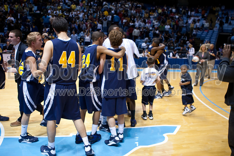 Mt Tabor vs Sanford Men's Varsity Basketball<br /> 4A State Championship Game - Mt Tabor 60 Sanford 55<br /> Saturday, March 14, 2009 at Dean Smith Center<br /> Chapel Hill, North Carolina<br /> (file 202112_803Q9344_1D3)
