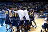 Mt Tabor vs Sanford Men's Varsity Basketball<br /> 4A State Championship Game - Mt Tabor 60 Sanford 55<br /> Saturday, March 14, 2009 at Dean Smith Center<br /> Chapel Hill, North Carolina<br /> (file 202116_803Q9347_1D3)