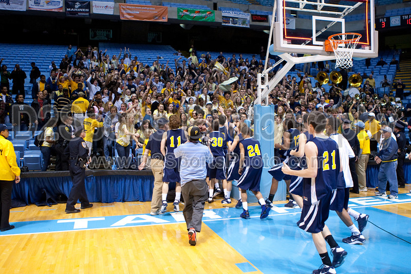 Mt Tabor vs Sanford Men's Varsity Basketball<br /> 4A State Championship Game - Mt Tabor 60 Sanford 55<br /> Saturday, March 14, 2009 at Dean Smith Center<br /> Chapel Hill, North Carolina<br /> (file 202127_803Q9350_1D3)