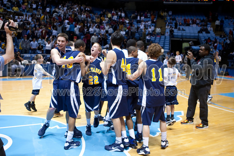 Mt Tabor vs Sanford Men's Varsity Basketball<br /> 4A State Championship Game - Mt Tabor 60 Sanford 55<br /> Saturday, March 14, 2009 at Dean Smith Center<br /> Chapel Hill, North Carolina<br /> (file 202109_803Q9340_1D3)