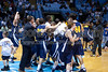 Mt Tabor vs Sanford Men's Varsity Basketball<br /> 4A State Championship Game - Mt Tabor 60 Sanford 55<br /> Saturday, March 14, 2009 at Dean Smith Center<br /> Chapel Hill, North Carolina<br /> (file 202106_803Q9338_1D3)