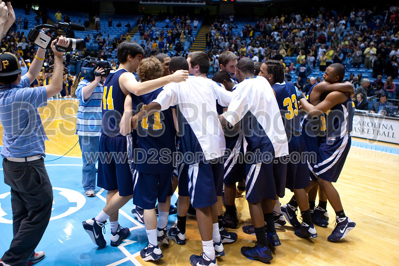 Mt Tabor vs Sanford Men's Varsity Basketball<br /> 4A State Championship Game - Mt Tabor 60 Sanford 55<br /> Saturday, March 14, 2009 at Dean Smith Center<br /> Chapel Hill, North Carolina<br /> (file 202117_803Q9348_1D3)
