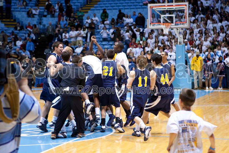 Mt Tabor vs Sanford Men's Varsity Basketball<br /> 4A State Championship Game - Mt Tabor 60 Sanford 55<br /> Saturday, March 14, 2009 at Dean Smith Center<br /> Chapel Hill, North Carolina<br /> (file 202101_803Q9334_1D3)
