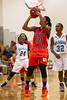 Reagan Raiders vs Glenn Bobcats Women's Varsity Basketball<br /> Mary Garber Tournament<br /> Saturday, December 22, 2012 at Atkins High School<br /> Winston-Salem, North Carolina<br /> (file 150833_BV0H1147_1D4)