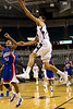Reagan Raiders vs Parkland Mustangs Men's Varsity Basketball<br /> Frank Spencer Holiday Classic Semifinals<br /> Tuesday, December 28, 2010 at Lawrence Joel Veterans Memorial Coliseum<br /> Winston-Salem, North Carolina<br /> (file 222737_BV0H0492_1D4)