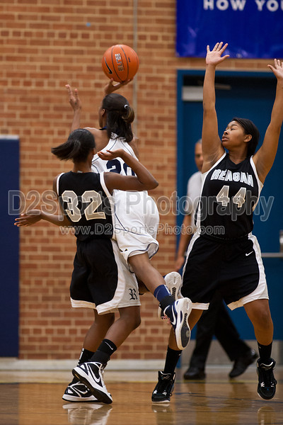Mt Tabor Spartans vs Reagan Raiders Women's Varsity Basketball<br /> Friday, February 03, 2012 at Mt Tabor High School<br /> Winston-Salem, North Carolina<br /> (file 180600_803Q3010_1D3)
