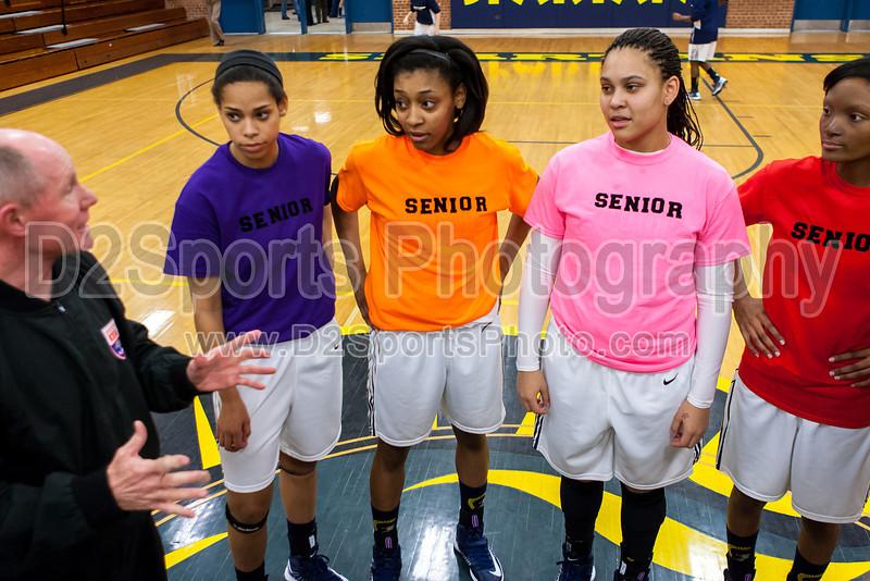 Mt Tabor Spartans vs N Davidson Black Knights Women's Varsity Basketball<br /> Senior Night<br /> Friday, February 08, 2013 at Mt Tabor High School<br /> Winston-Salem, North Carolina<br /> (file 174940_803Q7849_1D3)