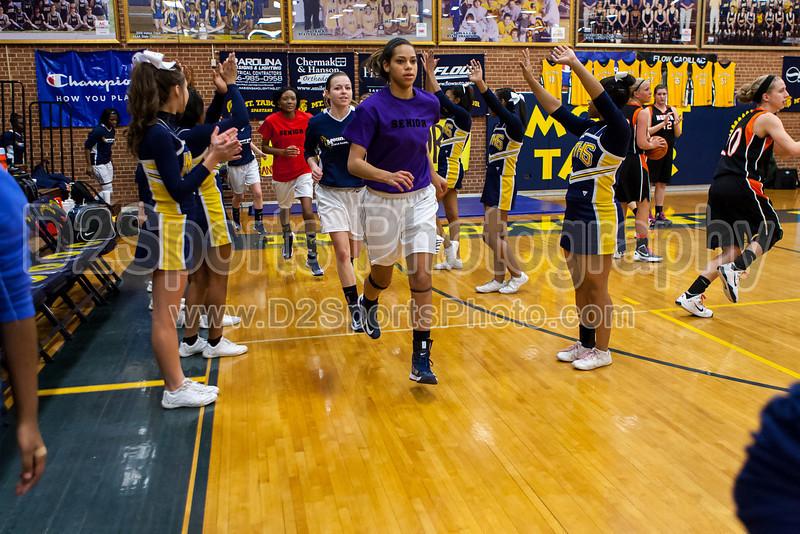 Mt Tabor Spartans vs N Davidson Black Knights Women's Varsity Basketball<br /> Senior Night<br /> Friday, February 08, 2013 at Mt Tabor High School<br /> Winston-Salem, North Carolina<br /> (file 174831_803Q7825_1D3)