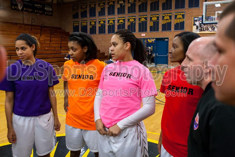 Mt Tabor Spartans vs N Davidson Black Knights Women's Varsity Basketball<br /> Senior Night<br /> Friday, February 08, 2013 at Mt Tabor High School<br /> Winston-Salem, North Carolina<br /> (file 174924_803Q7843_1D3)