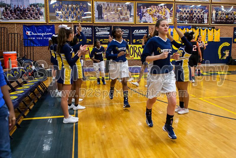 Mt Tabor Spartans vs N Davidson Black Knights Women's Varsity Basketball<br /> Senior Night<br /> Friday, February 08, 2013 at Mt Tabor High School<br /> Winston-Salem, North Carolina<br /> (file 174833_803Q7831_1D3)