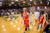 Mt Tabor Spartans vs Davie County War Eagles Men's Varsity Basketball<br /> Friday, February 01, 2013 at Mt Tabor High School<br /> Winston-Salem, North Carolina<br /> (file 191744_803Q7279_1D3)