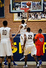Mt Tabor Spartans vs Glenn Bobcats Men's Varsity Basketball<br /> Frank Spencer Holiday Classic Champion Bracket<br /> Wednesday, December 26, 2012 at Mt Tabor High School<br /> Winston-Salem, North Carolina<br /> (file 140836_803Q4168_1D3)