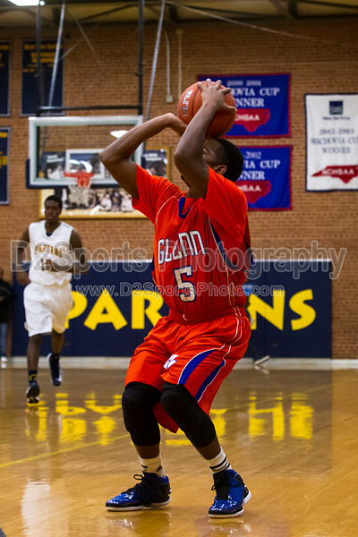 Mt Tabor Spartans vs Glenn Bobcats Men's Varsity Basketball<br /> Frank Spencer Holiday Classic Champion Bracket<br /> Wednesday, December 26, 2012 at Mt Tabor High School<br /> Winston-Salem, North Carolina<br /> (file 140600_BV0H1578_1D4)