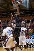 West Stokes Wildcats vs N Forsyth Vikings Men's Varsity Basketball<br /> Frank Spencer Holiday Classic Quarterfinals<br /> Monday, December 26, 2011 at Mt Tabor High School<br /> Winston-Salem, North Carolina<br /> (file 154639_BV0H6186_1D4)
