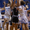 The JV Eagles take home a win against Decatur at Decatur High School on February 9, 2021. (Katie Ray | The Talon News)