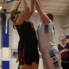 The JV Lady Eagles take home a win against the Krum Bobcats at Krum High School on January 26, 2021. (Katie Ray | The Talon News)