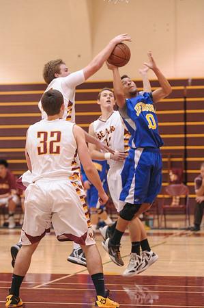 Jefferson High School vs. M-A Varsity Boy's Basketball 2014-01-18