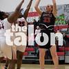 The Lady Eagles play against Gainesville on Feb. 2, 2018 at Gainesville Highschool in Gainesville, Texas, on February 2, 2018. (Quinn Calendine / The Talon News)