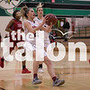 The Lady Eagles play against Dallas Carter on Feb. 12, 2018 at Carrol Highschool in Southlake, Texas, on February 12, 2018. (Quinn Calendine / The Talon News)