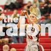 Lady Eagles take on Aubrey on Tuesday, Jan. 26 at Argyle High School inArgyle, TX. (Caleb Miles / The Talon News)
