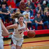 The Lady Eagles defeat the Bridgeport Sissies at Argyle High School on 01-10-20 . (Alex Daggett | The Talon news)