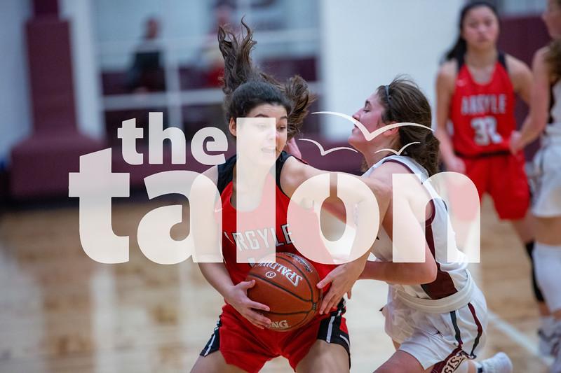 The Lady Eagles defeat the Bridgeport Sissies at Bridgeport on 01-28-20 . (Alex Daggett | The Talon news)