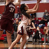 The Lady Eagles fall to Bridgeport at Argyle High School on January 22, 2021.  (Katie Ray | The Talon News)