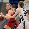 Argyle Lady Eagles Basketball takes on the Canyon Lady Eagles on Feb. 28, 2020 at Lubbock Christian University (Rylie Halk | The Talon News)